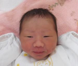 2017年9月2日生まれ 奈未ちゃん