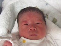 2017年12月30日生まれ 楓麻くん